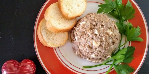 mock chopped liver cheating